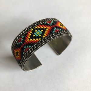 Handcrafted Beaded Bracelet from Ecuador